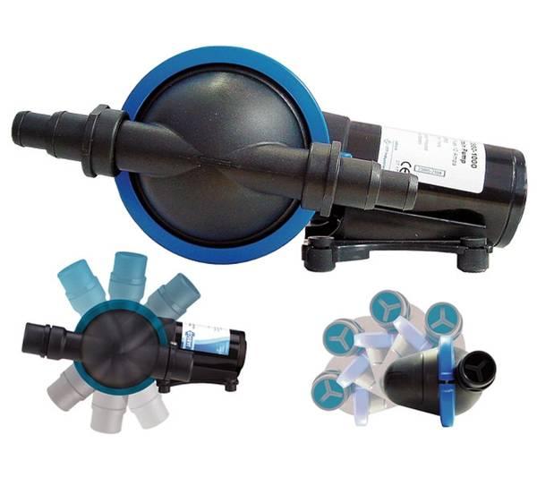 Bilde av Jabsco membran  lensepumpe 24V