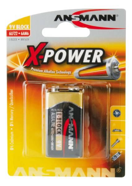 Bilde av Alkaline X-power E, 1-pk