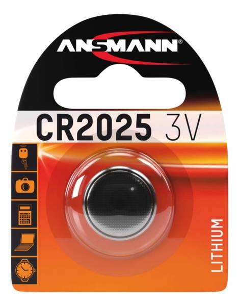 Bilde av Lithium batteri CR2025, 1-pk