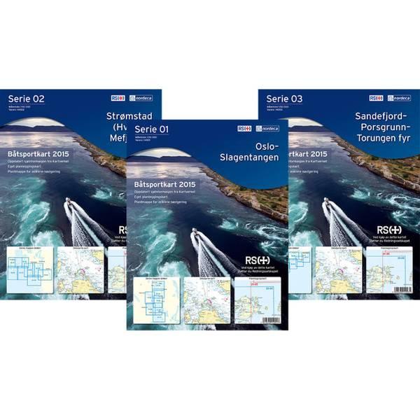 Bilde av Båtsportkart Serie 05 Lindesnes-Tananger